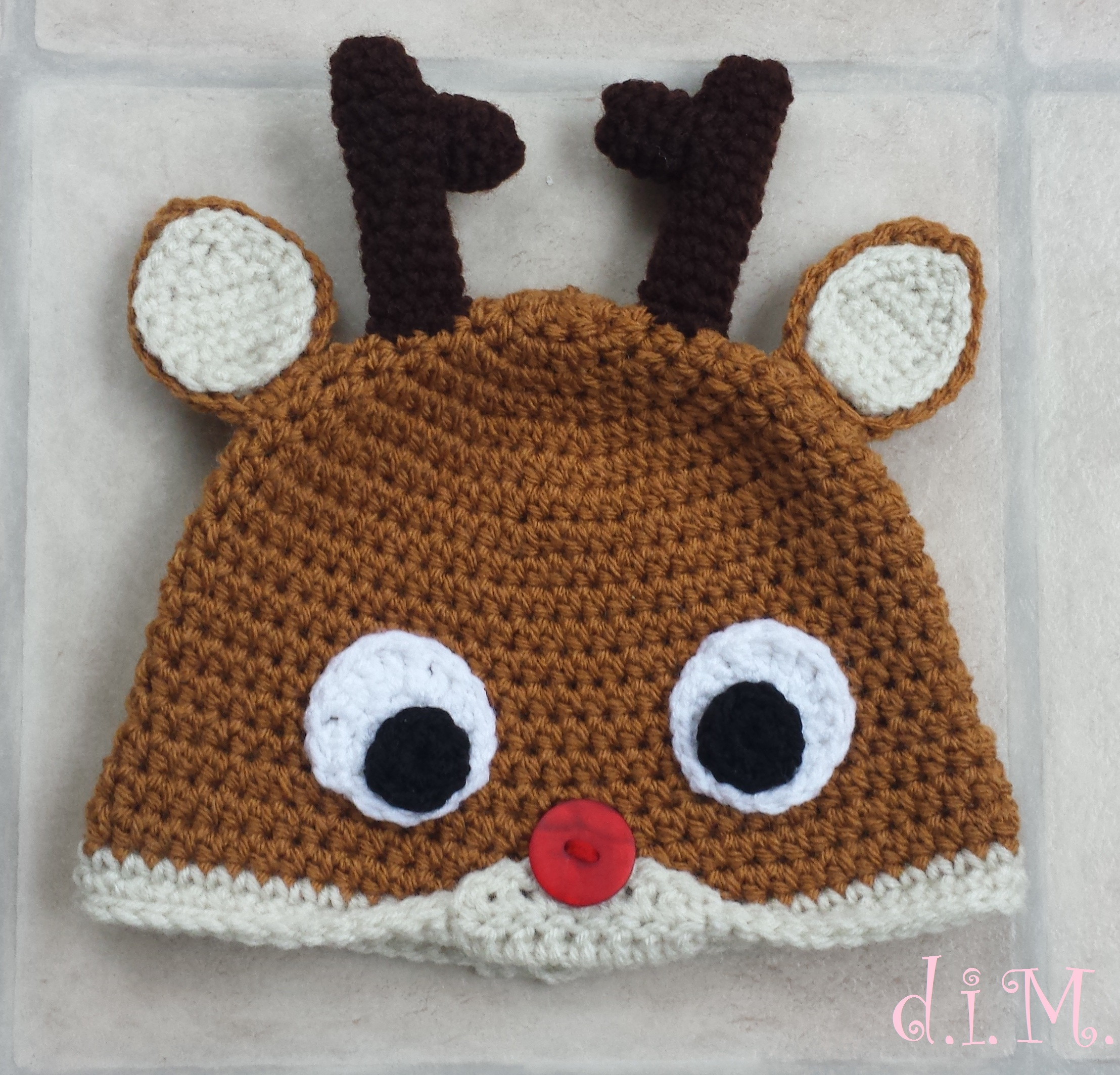 Crochet Reindeer Hats – doitMegself