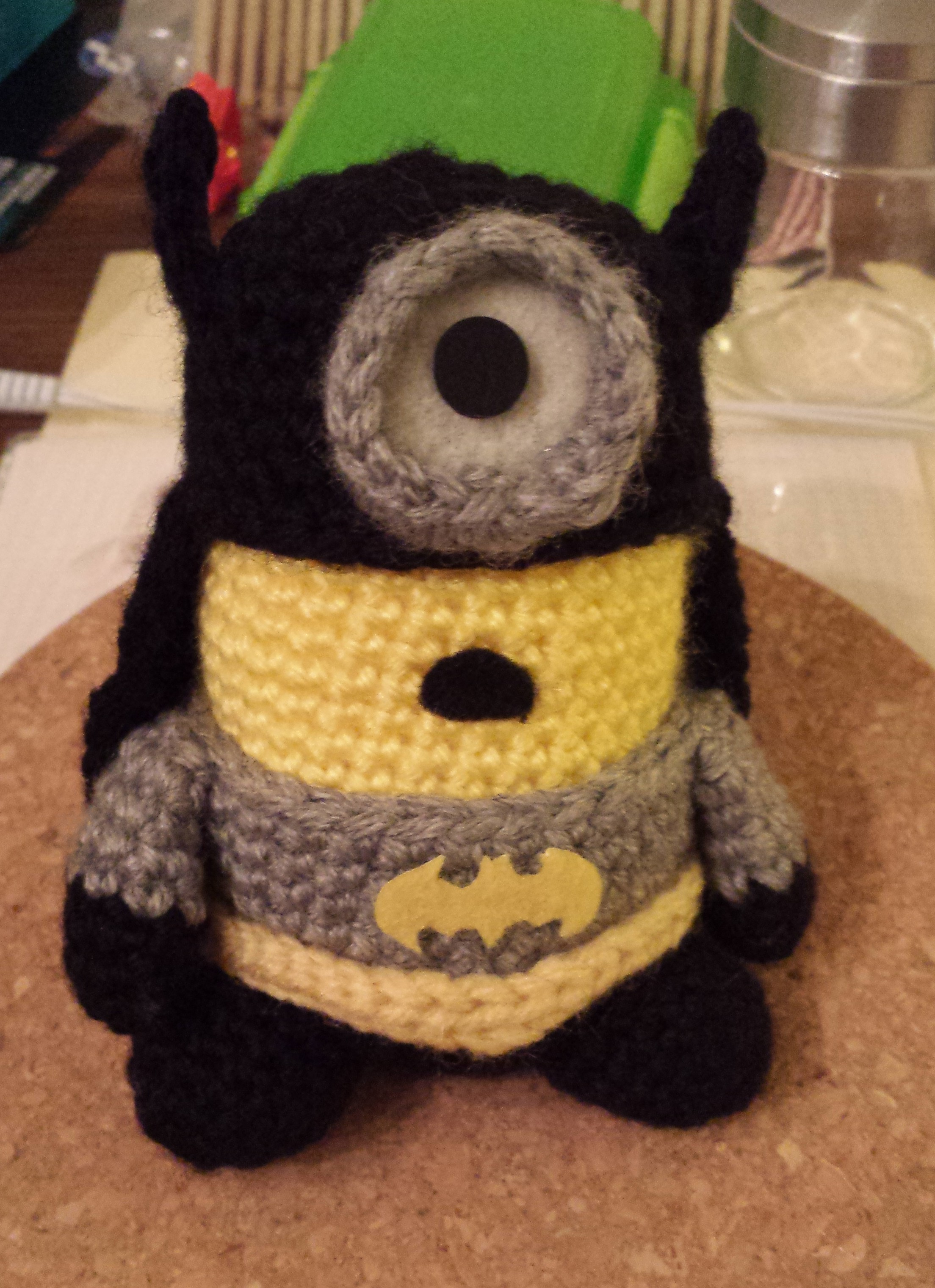 Free Crochet Batman Minion Pattern : Batman Minion ? doitMegself