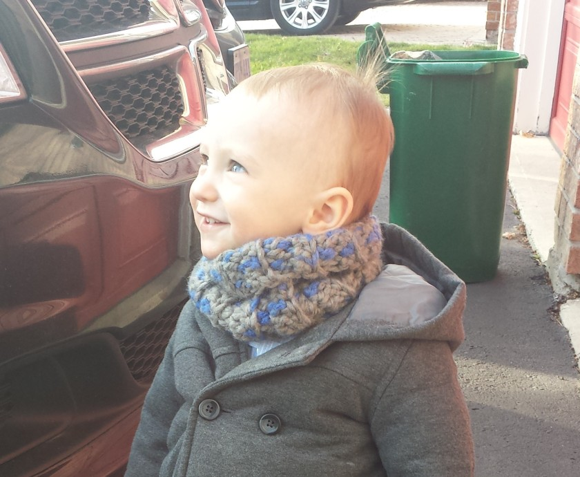 Toddler Cowl