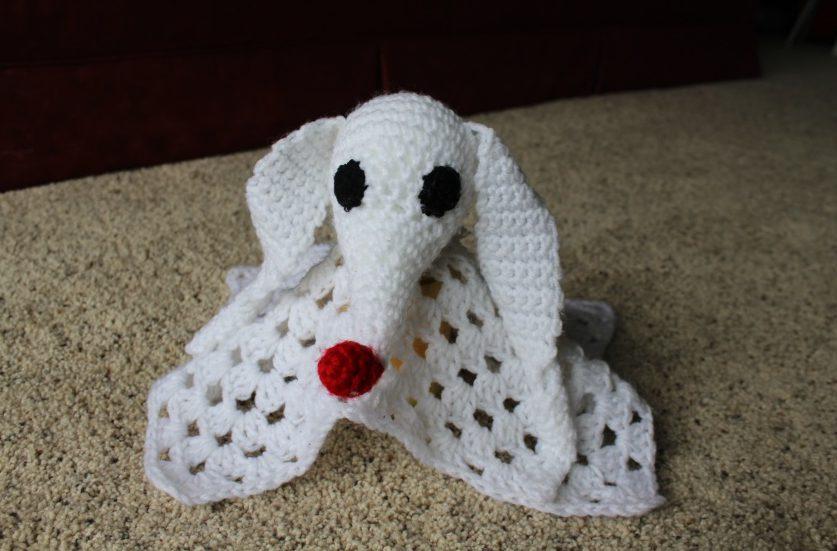 Crochet Patterns Galore - Jack Skellington Applique | 551x837