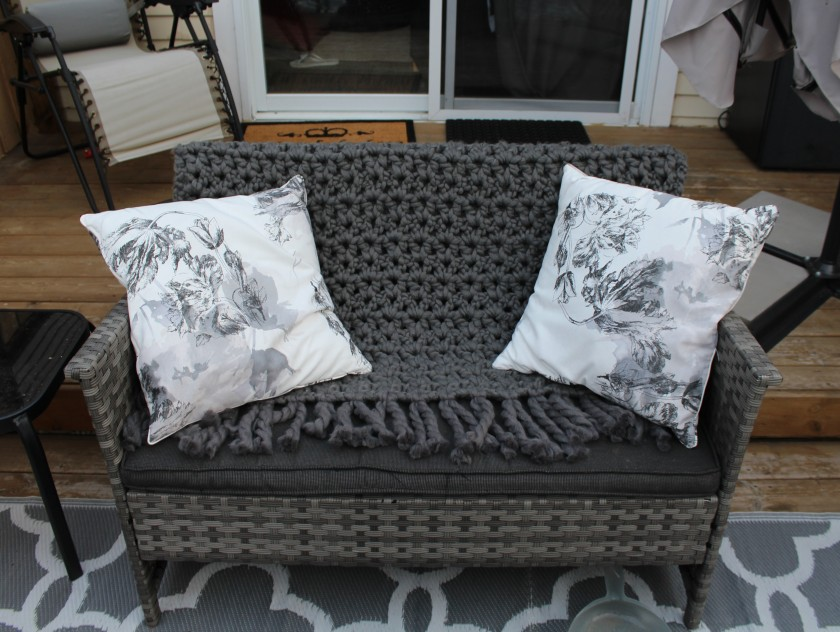Chunky Patio Throw Doitmegself