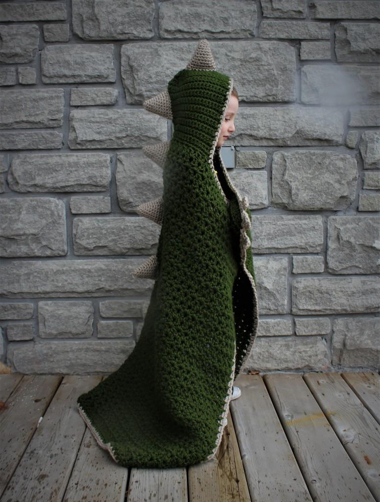 Hooded Dinosaur Blanket – doitMegself