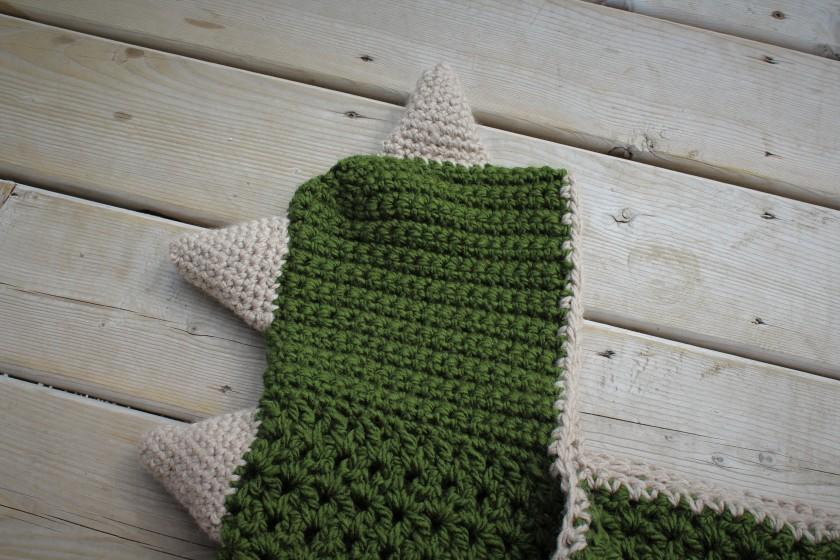 Hooded Dinosaur Blanket Doitmegself